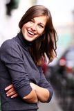 Happy smiling woman Royalty Free Stock Photo