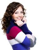Happy smiling woman Stock Photos