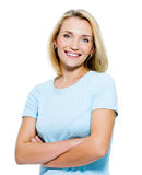 Happy smiling woman Royalty Free Stock Image