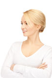 Happy and smiling woman. Royalty Free Stock Photography