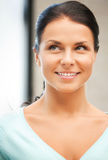 Happy and smiling woman Royalty Free Stock Image