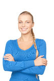Happy and smiling woman Royalty Free Stock Images