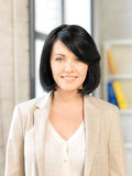 Happy and smiling woman Stock Image
