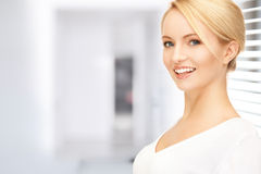 Happy and smiling woman Stock Photo