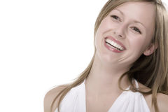 Happy Smiling Woman Stock Image