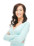 Happy and smiling woman Stock Photography
