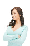 Happy and smiling woman Stock Images