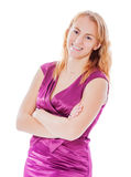 Happy Smiling Woman Stock Images