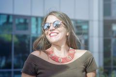 Happy smiling woman Stock Image