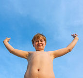 Happy smiling young boy Stock Image