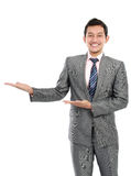 Happy smiling young business man Stock Image