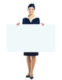 Happy smiling young business woman Royalty Free Stock Images