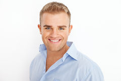 Happy smiling young businessman Royalty Free Stock Images