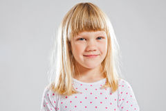 Happy smiling young girl Royalty Free Stock Image