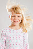 Happy smiling young girl Royalty Free Stock Photos