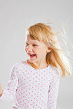Happy smiling young girl Stock Photography