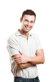 Happy smiling young man Royalty Free Stock Photography