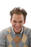 Happy smiling young man Stock Image