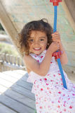 Happy smling child playing Stock Images