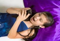 Happy SMS Stock Image