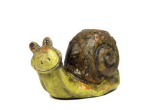 Happy snail Stock Image