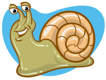 Happy Snail Royalty Free Stock Images