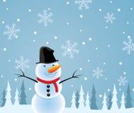 Happy snowman Royalty Free Stock Photos