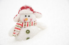 Happy snowman Royalty Free Stock Photography