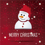Happy snowman Royalty Free Stock Photography
