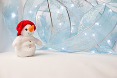 The happy snowman Stock Photography