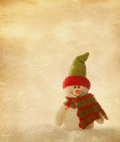 Happy snowmen Royalty Free Stock Images