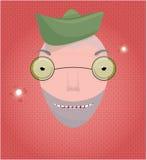 Happy solder Royalty Free Stock Image