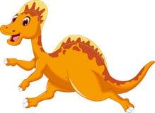 Happy Spinosaurus cartoon running Stock Photography