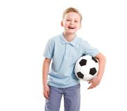 Happy Sport  Boy isolated Stock Photography