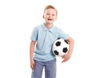 Happy Sport  Boy isolated Stock Photography