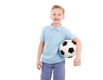 Happy Sport  Boy isolated Stock Photos
