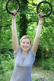 Happy sport girl Royalty Free Stock Photo