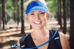 Happy sport portrait Stock Images