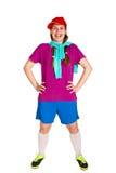 Happy sportswoman Stock Image