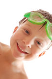 Happy spoty child Royalty Free Stock Images