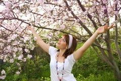 Happy spring royalty free stock photos