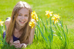 Happy Spring Day Stock Photo