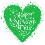 Happy Spring Day. stock illustration