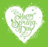 Happy Spring Day. vector illustration