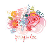 Happy Spring Stock Image