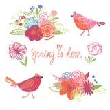 Happy Spring Stock Photos