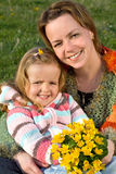 Happy spring portrait Stock Photography