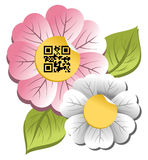 Happy spring sale tag collection Stock Photography