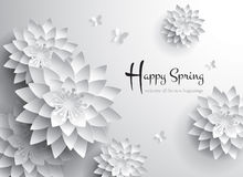 Happy Spring. Welcome all the new beginnings. Stock Photo