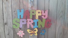 Happy Spring royalty free stock photography